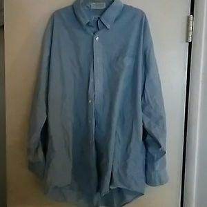 L.L. Bean Blue Dress-Shirt Long Sleeve